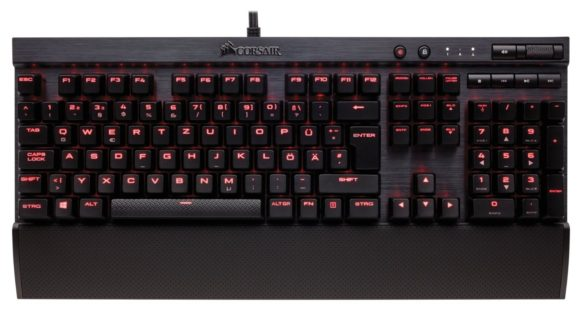 Corsair K70 Rapidfire Test Gaming Tastatur