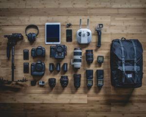 Elektronische Trends und technische Alltagsgegenstände