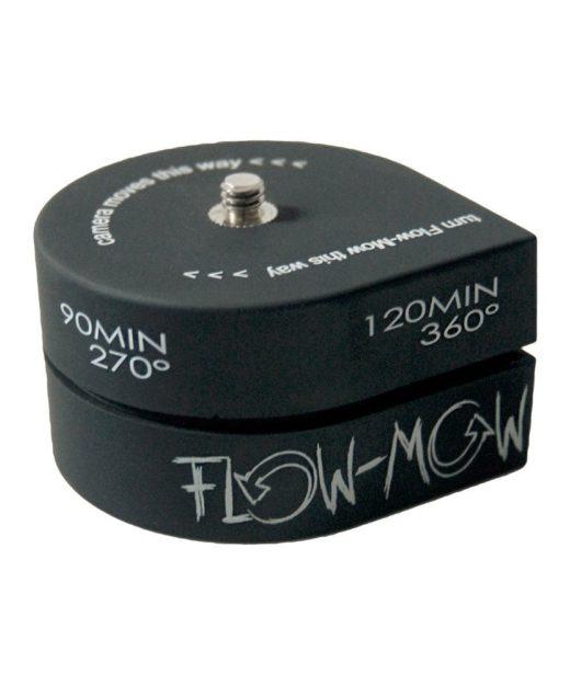 Flow Mow Test automatisch rotierender Stativkopf