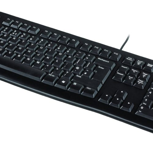 Logitech K120 Test Office Büro Tastatur