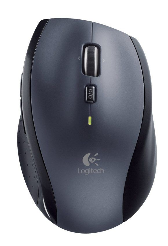 Logitech M705 Test Office Maus kabellos