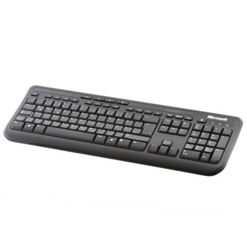 Microsoft Wired Keyboard 600 Test Office Tastatur
