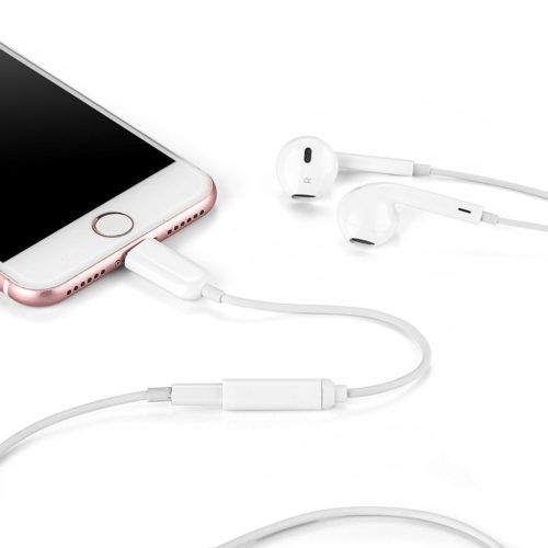 OKCS Adapterkabel Lightning zu AUX Test iPhone Kopfhörer-Adapter