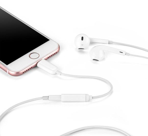 OKCS Adapterkabel Lightning zu AUX Test iPhone Kopfhörer-Adapter
