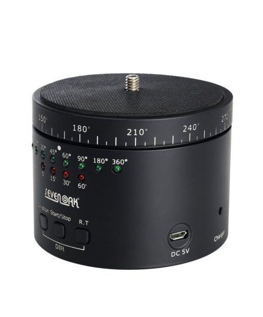 Sevenoak SK-EBH01 Pro Test rotierender Stativkopf