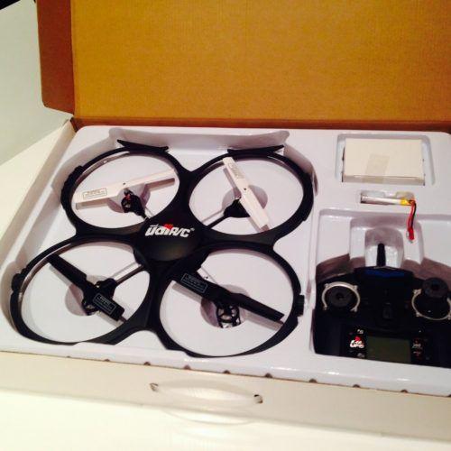 UDI U818A Test Drohne UFO