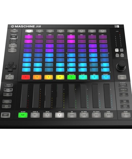 Native Instruments Maschine Jam Test Hardware-Sequenzer Sampler