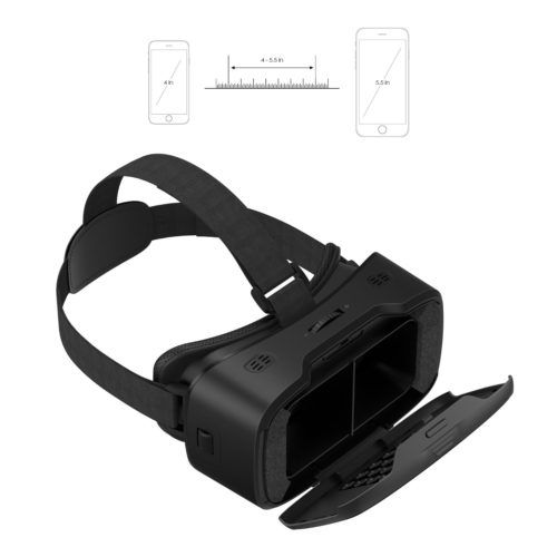 AUKEY VR Headset Test Virtuelle Realitätsbrille