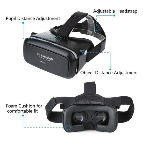 Blusmart 3D-VR-Brille Virtual Reality Headset