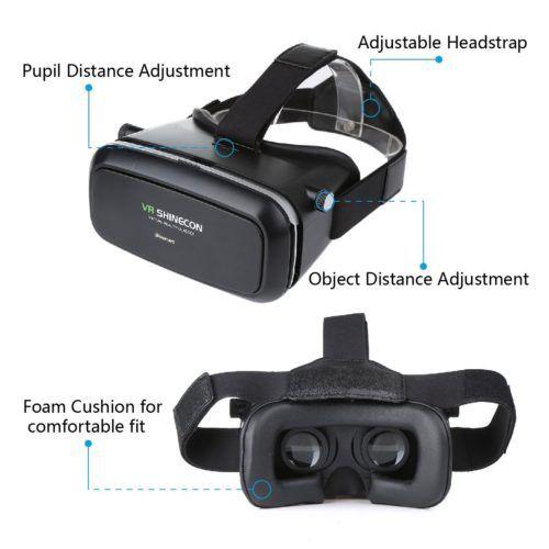 Blusmart 3D-VR-Brille Virtual Reality Headset