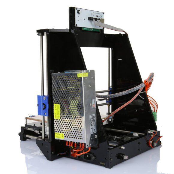 Ridgeyard Acrylic Prusa Test i3 Dual Extruder Kit