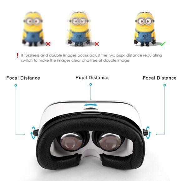 Amir 3D Virtual Reality Headset Test VR Brille