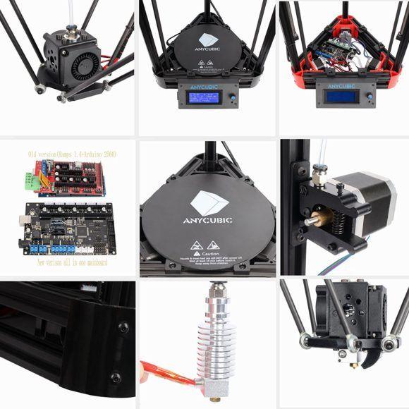 Anycubic Kossel Kit Test Delta Rostock Linear 3D Drucker
