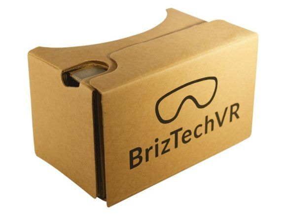 Google Cardboard 2.0 VR Test Virtual Reality Brille