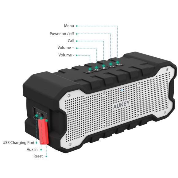 AUKEY Bluetooth Lautsprecher Testbericht kabellose Audiobox