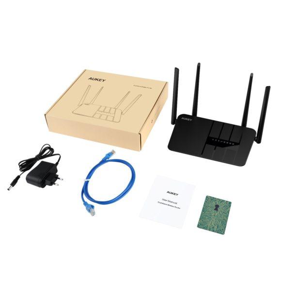 AUKEY WLAN Router AC1200 Dual-Band Testbericht Internetrouter Vergleich