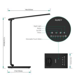 Aukey 12W LED Schreibtischlampe Test Tischleuchte