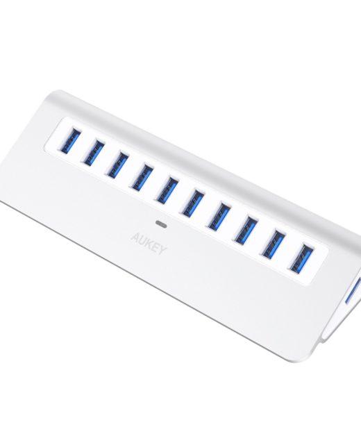 Aukey USB 3.0 10-Port Hub Test USB-Verteiler