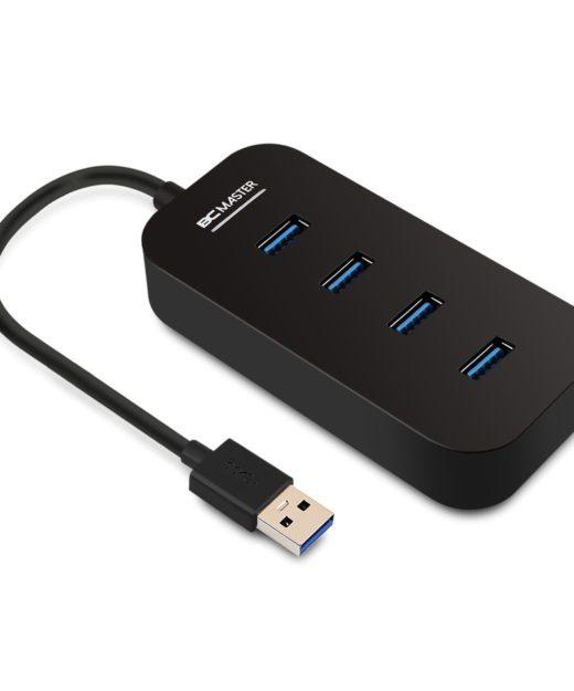 BC Master 4-Port USB 3.0 Splitter Test USB-Hub