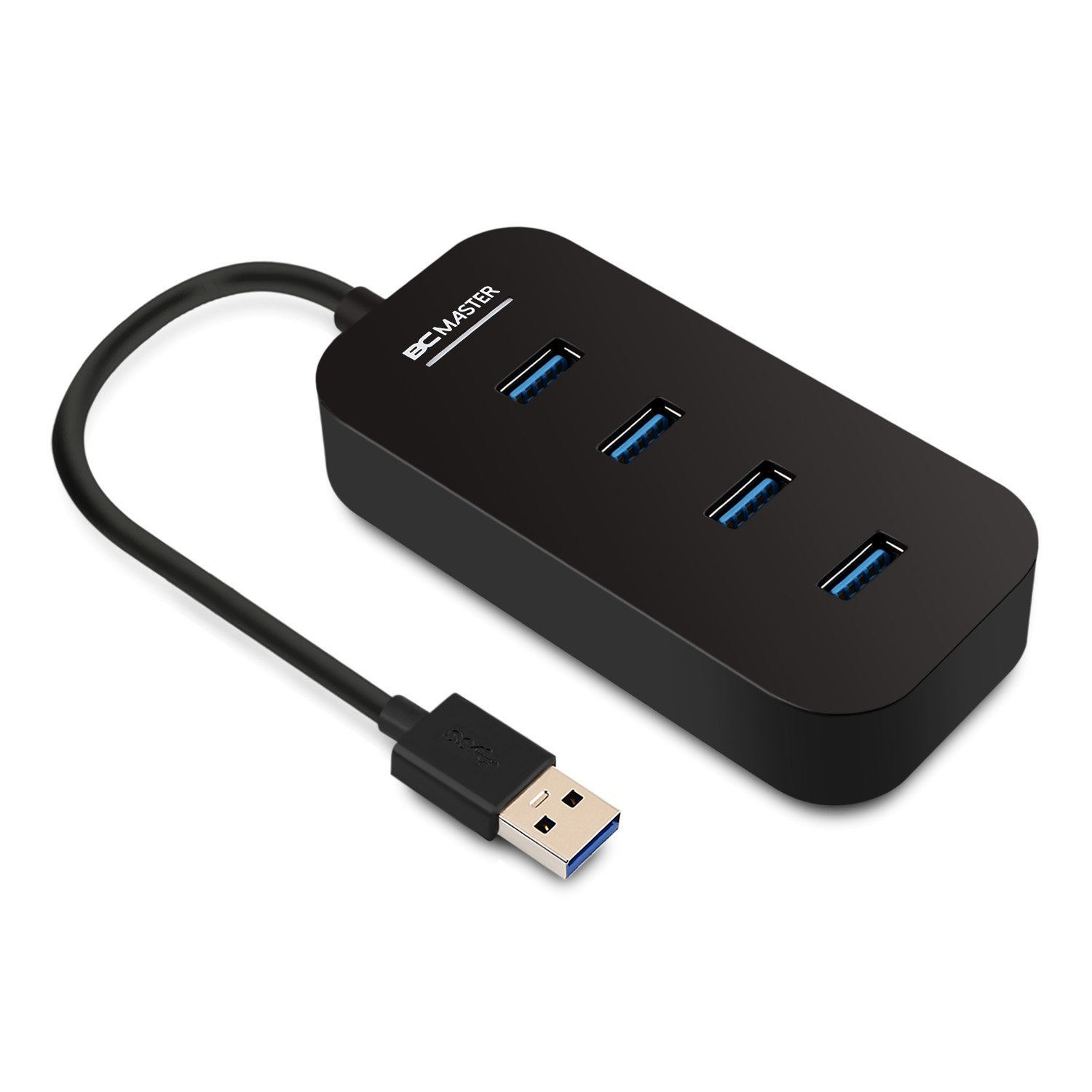 BC Master 4-Port USB 3.0 Splitter Test USB-Hub