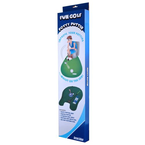 Longridge Potty Putter WC Golf Set Test Klo-Golf