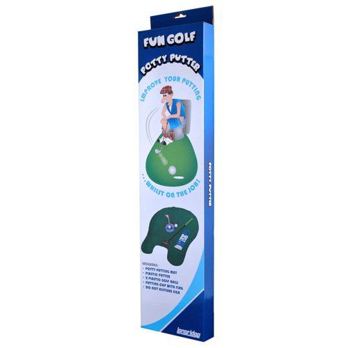 Longridge Potty Putter WC Golf Set Test Klo-Golf