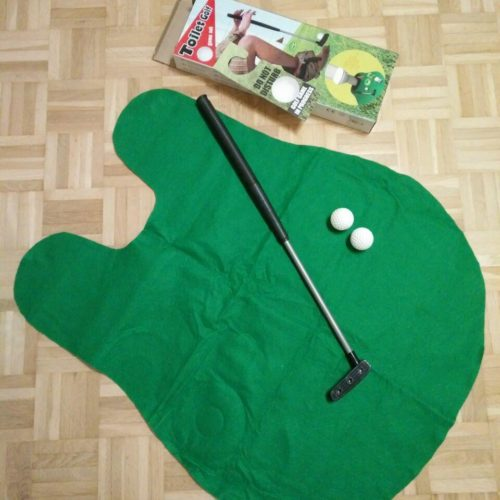 Out of the blue Toiletten Golf Set Test Toiletten-Minigolf Testbericht