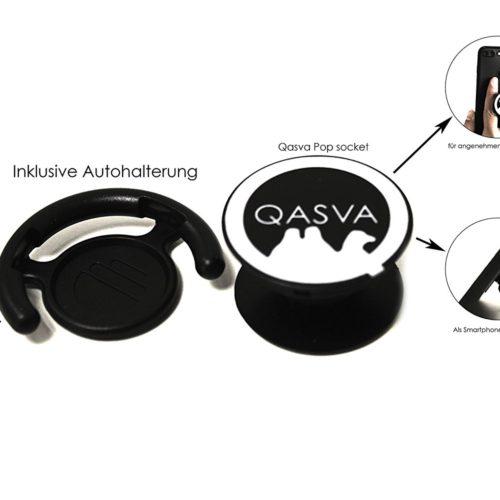Qasva Handyhalter und -griff Vergleichstest für Smatphone, Tablet, Kindle, iPod, Nintendo