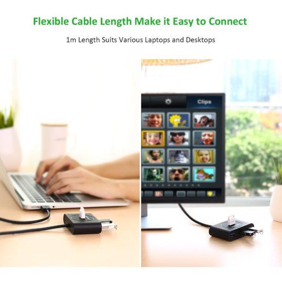 Ugreen 4-Port Super Speed USB Hub Test USB 3.0 Verteiler Vergleich