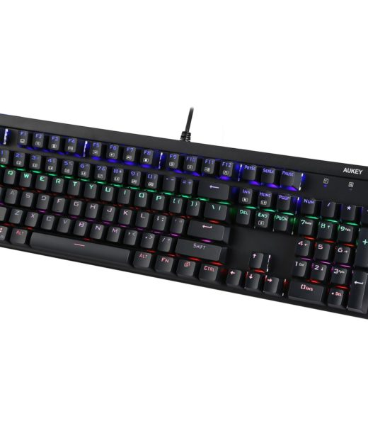 Aukey mechanische Tastatur Test Keyboard