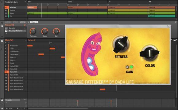 Dada Life Sausage Fattener Test Kompression und dirty Sound