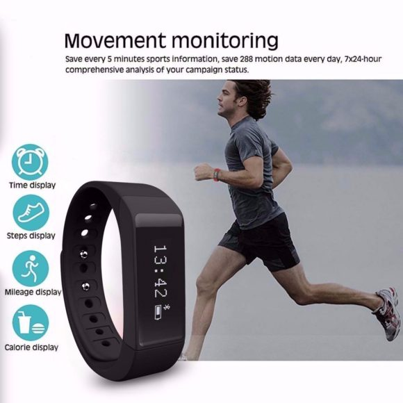 Elegiant I5 Plus Fitness Tracker Test Sportarmband