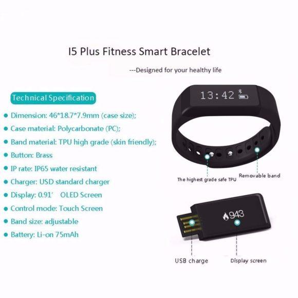 Elegiant I5 Plus Fitness Tracker Test Fitnessarmbänder