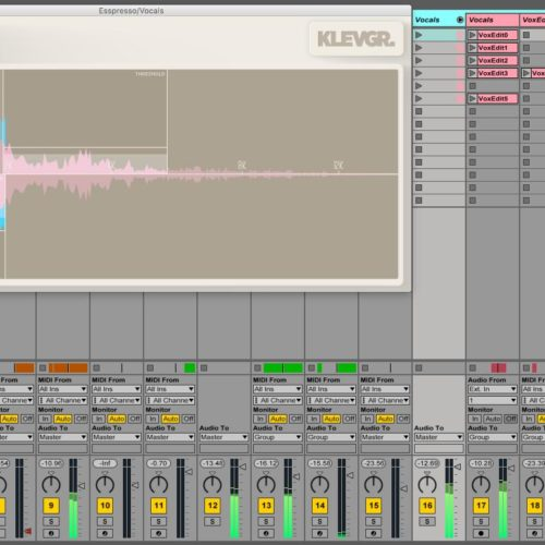 Klevgränd Esspresso Test Deesser Audio Plugin