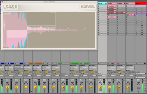 Klevgränd Esspresso Test Deesser Audio Plugin