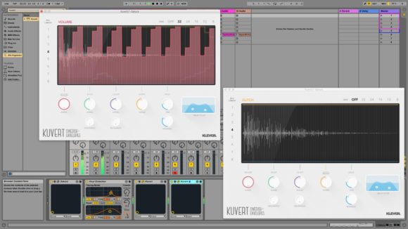 Klevgränd Kuvert Test Multieffekt Audio Plugin