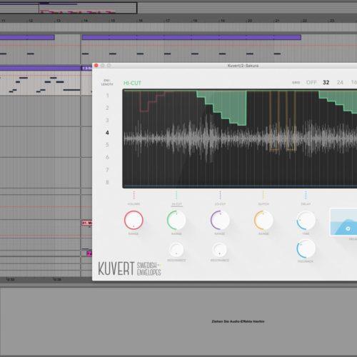 Klevgränd Kuvert Test Multieffekt Audioplugin