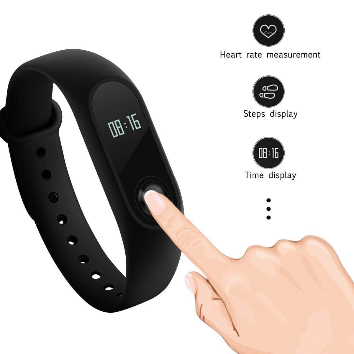 Xiaomi Mi Band 2 Test Fitbit Fitness Tracker K 246 Nnen Sich