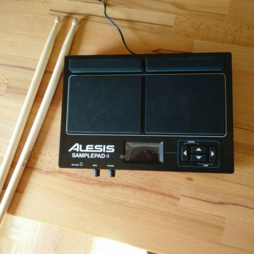 Alesis Samplepad 4 Testbericht Percussion Pads