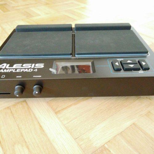 Alesis Samplepad 4 Testbericht MIDI USB Drumpad