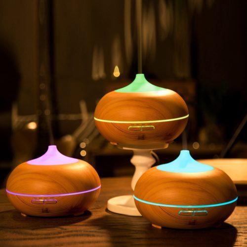 Anypro Aroma Diffuser Test Luftbefeuchter Duftzerstäuber