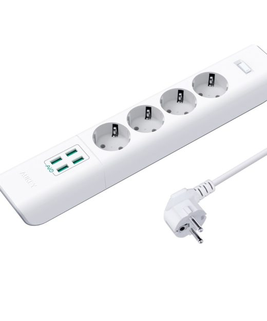 Aukey USB-Steckdosenleisten Test USB-Verteiler