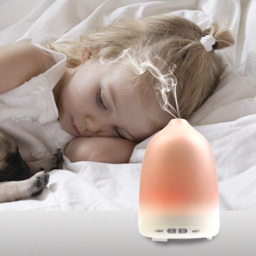 Soft Digits Aroma Diffuser Test Luftbefeuchter ätherische Öllampe