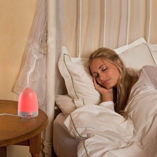 Soft Digits Aroma Diffuser Test Raumluftbefeuchter Duftlampe