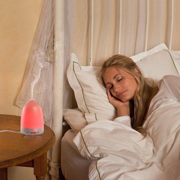 Soft Digits Aroma Diffuser Test Raumluftbefeuchter Duftlampe