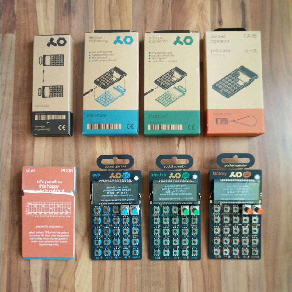 Teenage Engineering PO-10 Test Sequencer Set