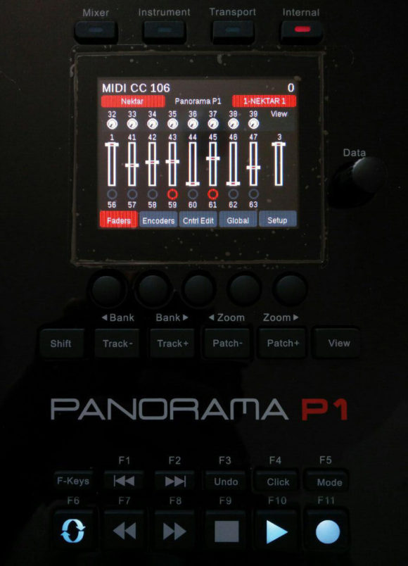 Nektar Panorama P1 Test DAW USB-Controller