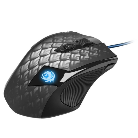 Sharkoon Drakonia Black Test Gaming Laser Maus 8200 dpi