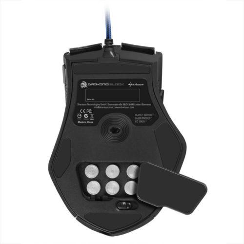 Sharkoon Drakonia Black Gaming Laser Maus 8200 dpi