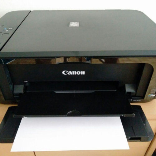 Canon Pixma MG3650 Test Drucker